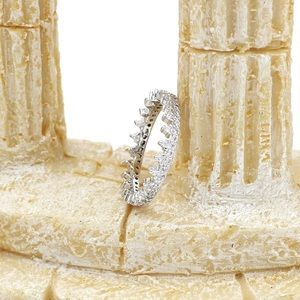 Ocean Fashion Jewelry - Fashion able temperament crystal ring